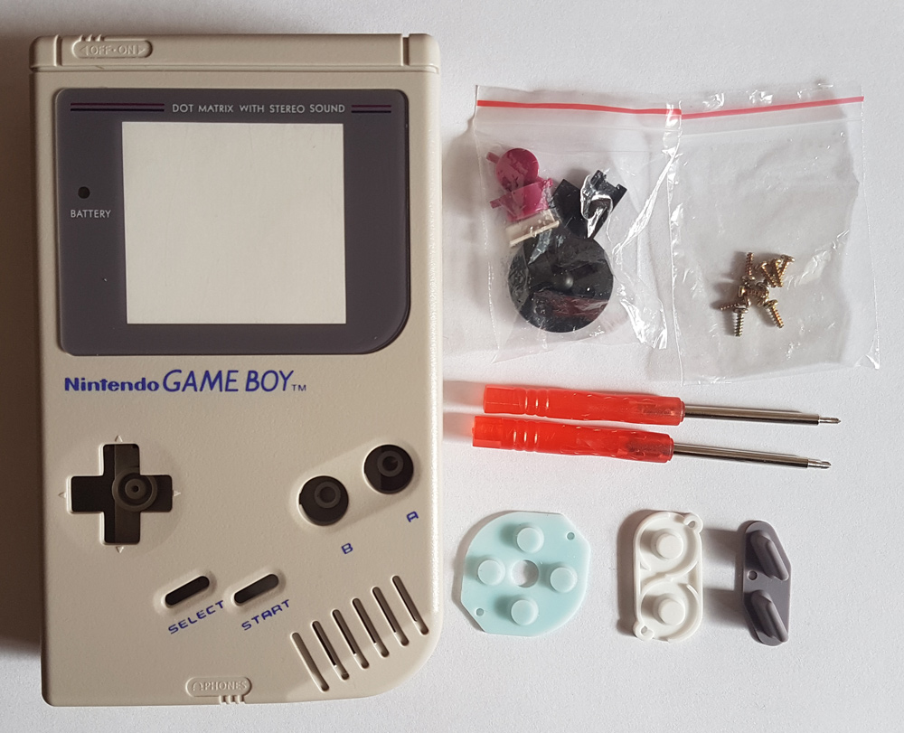 Game Boy DMG Shell